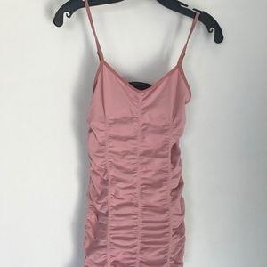 BCBGMaxAzria Draped Tube Dress xs/s